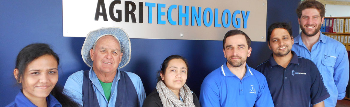 Agritechnology technical and support staff